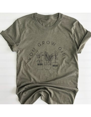 Amanda's on Main You Grow Girl Tee