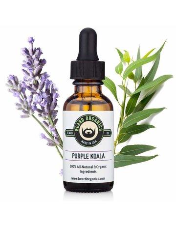 Beard Organics Purple Koala - 30ml Beard Oil