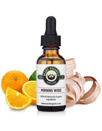 Beard Organics Morning Wood - 30ml Beard Oil