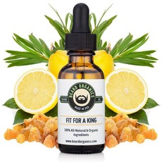 Beard Organics Fit for a King - 30ml Beard Oil