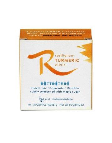 Bija Bhar Resilience Turmeric Elixir Box - 10 Single Servings