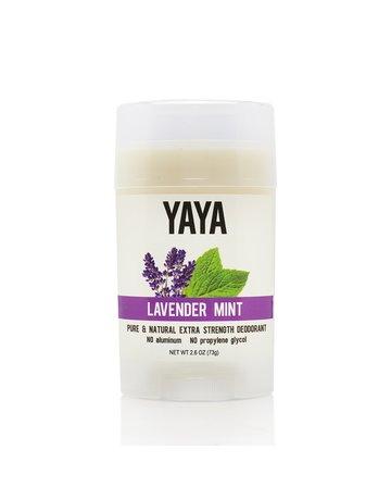 Yaya Organics Lavendar Mint  Natural Deodorant