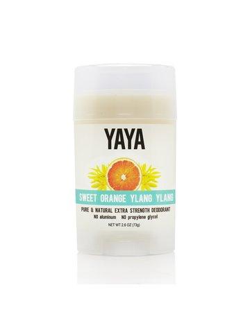Yaya Organics Sweet Orange Ylang Ylang Natural Deodorant