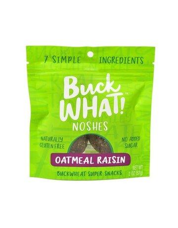 Buck WHAT! Noshes - Oatmeal Raisin - 2 oz.