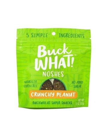 Buck WHAT! Noshes - Crunchy Peanut - 2 oz.