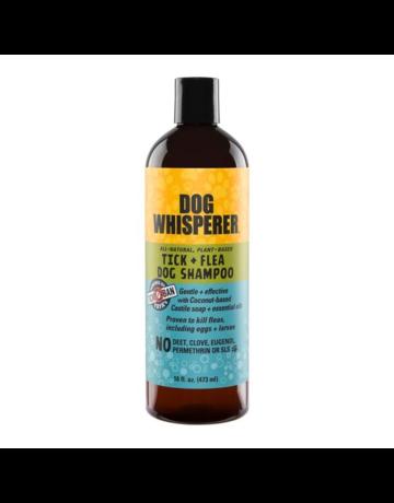 Yaya Organics Dog Whisperer Tick & Flea - Dog Shampoo 16 oz.