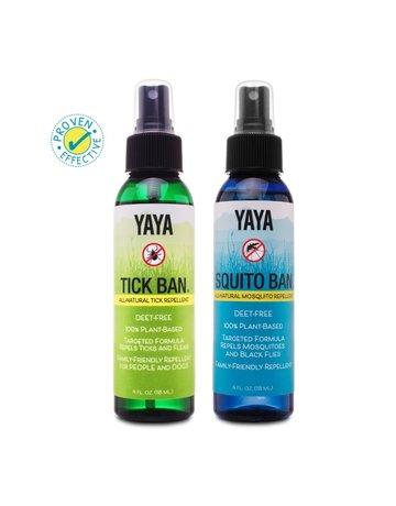 Yaya Organics Yaya Natural Repellents - Value Pack