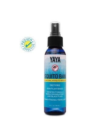 Yaya Organics Squito Ban - 4 oz.