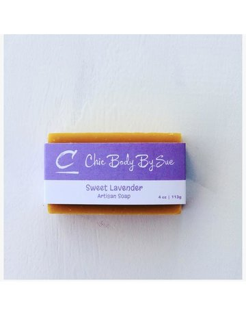 Chic Body by Sue Sweet Lavender - 4 oz.