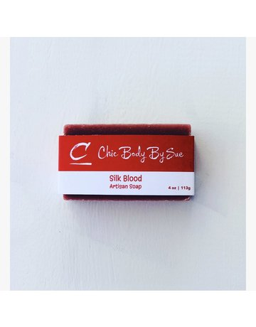 Chic Body by Sue Silk Blood Bar Soap - 4 oz.
