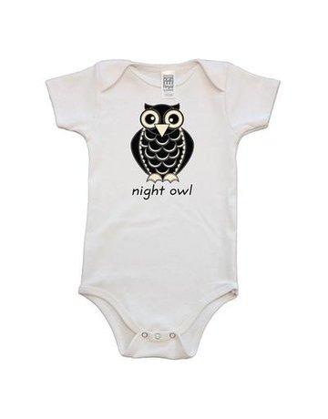 Simply Chickie Night Owl Onesie