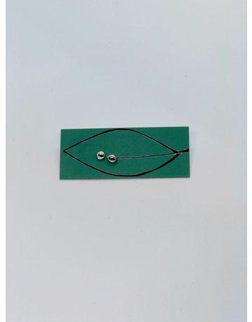 DB Designs Mini Pebble Stud Earrings - Sterling Silver