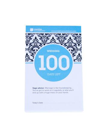 Creative Countdown 100-Day Countdown to Wedding