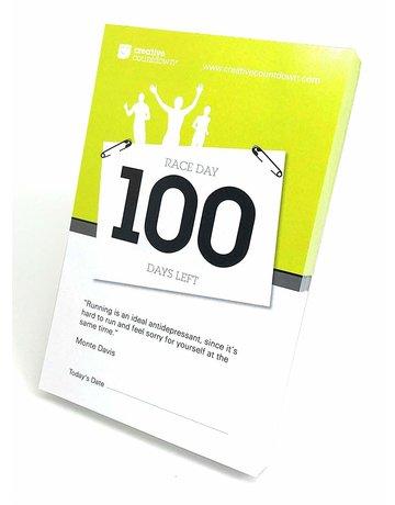 Creative Countdown 100-Day Race Day Countdown