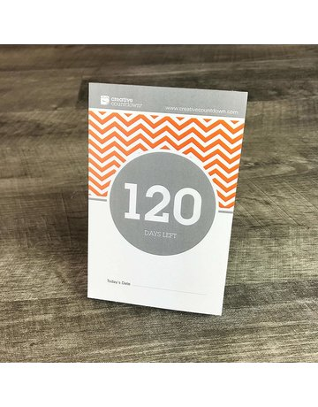 Creative Countdown 120-Day Countdown Calendar