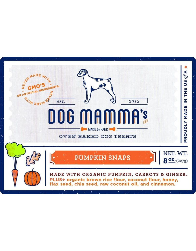 Dog Mammas Pumpkin Snaps - 8 oz.