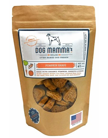 Dog Mammas Pumpkin Snaps - 8 oz.
