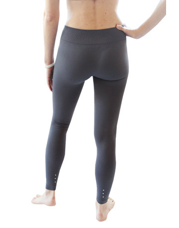 Doll Yoga Legging in Charcoal - Slim Fit