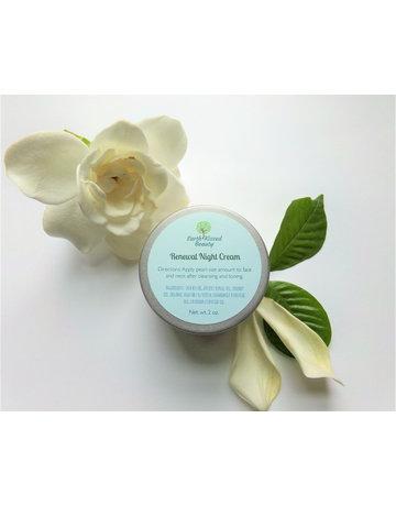Earth Kissed Beauty Renewal Night Cream - 2 oz.