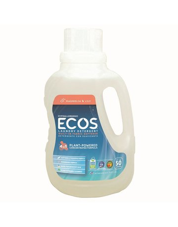 ECOS Laundry Detergent - 50 Loads - Magnolia & Lily