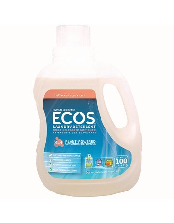 ECOS Laundry Detergent - 100 Loads - Magnolia & Lily