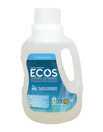 ECOS Laundry Detergent - 50 Loads - Free & Clear