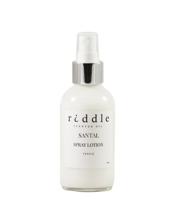 Riddle Oil Scented Spray Lotion - 4 oz.