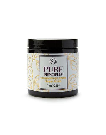 Pure Principles Invigorating Lemon Sugar Scrub - 10 oz.