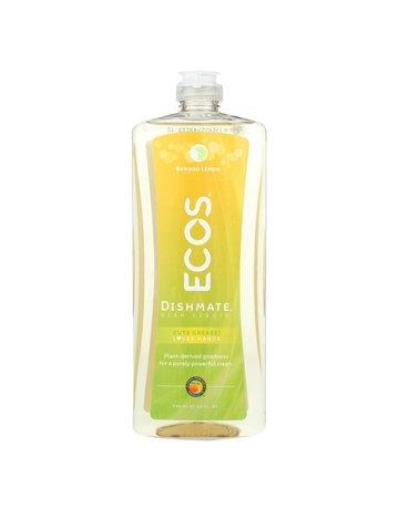 ECOS Hypoallergenic Dishmate Dish Soap - Bamboo Lemon - 25 oz.