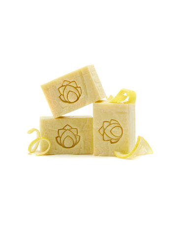 Pure Principles Invigorating Lemon Olive Oil Soap - 6 oz.