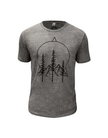 Powder & Pine Outdoor Company Pines & Peaks Eco Tri-Blend T-Shirt