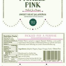Pickled Pink Foods Sweet Heat Jalapeno's - 16 oz.