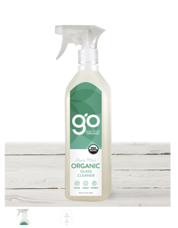 Greenshield Organic Organic Glass Cleaner - Fresh Mint - 26 oz.