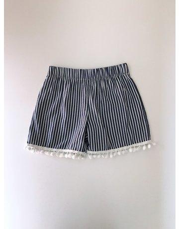 Olivia Leigh Jessie - Stripe Elastic Waist Shorts