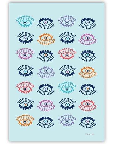 """Oh Bessie! 8.5"""" x 11"""" Art Print - Lotso Eyeball"""