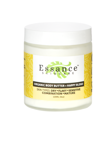 Essance Organic Body Butter (Happy) - 4 oz.