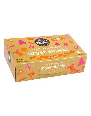 Natural Value Dryer Sheets - Unscented