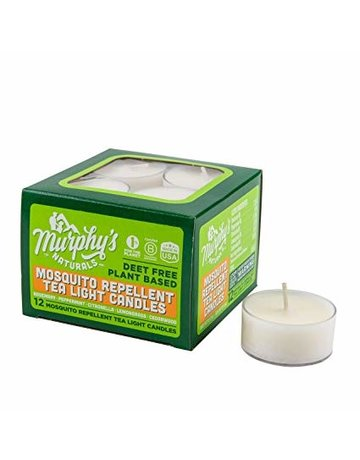 Murphy's Naturals Mosquito Repellent Tea Light Candles - 12 Pack