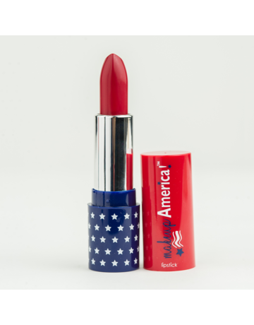 Makeup America Independence Red Matte Lipstick