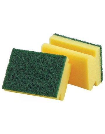 Libman Heavy Duty Sponge Scrubber - 2 Pack