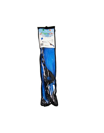 Castakite Blue Kite - Black Handle - Black Cast