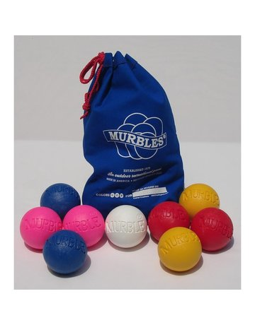 Kramer Creations Murbles - 4 Player Activity Set (Pink, Blue Yellow and Light Red)