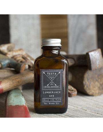 Vesta Apothecary Lumberjack Axe Beard Oil - 3 oz.