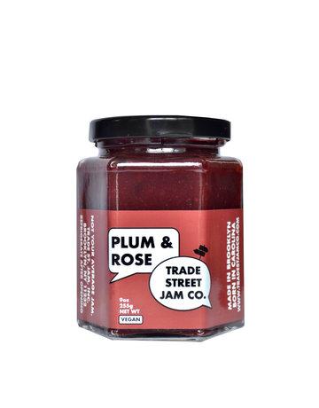 Trade Street Jam Plum & Rose Jam - 9 oz.