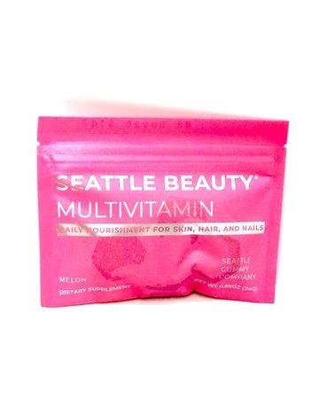 Seattle Gummy Co. Seattle Beauty Skin Hair Nail - Melon