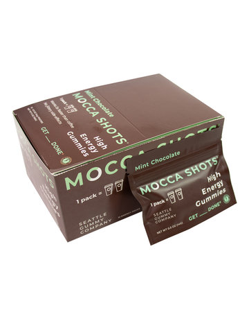 Seattle Gummy Co. Mocca Shots - Mint Chocolate