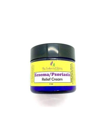 Enchanted Oilers Eczema & Psoriasis Relief Cream - 2 oz.
