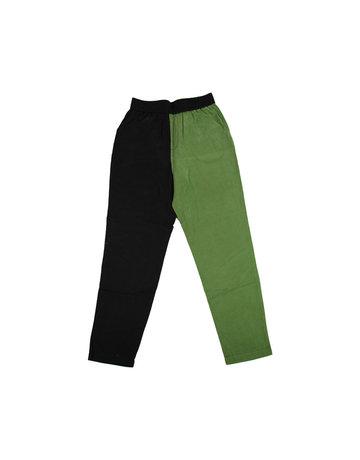 Chan + Krys Broadway Pants Black and Moss