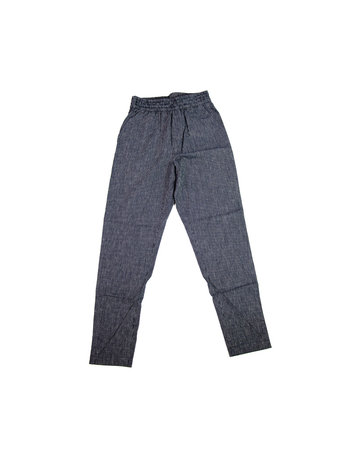 Chan + Krys Broadway Pants Navy Pinstripe