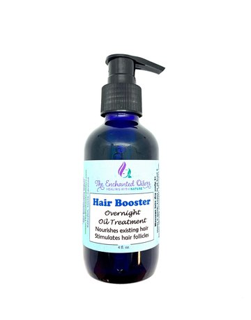 Enchanted Oilers Hair Booster - Overnight Treatment - 4 oz.